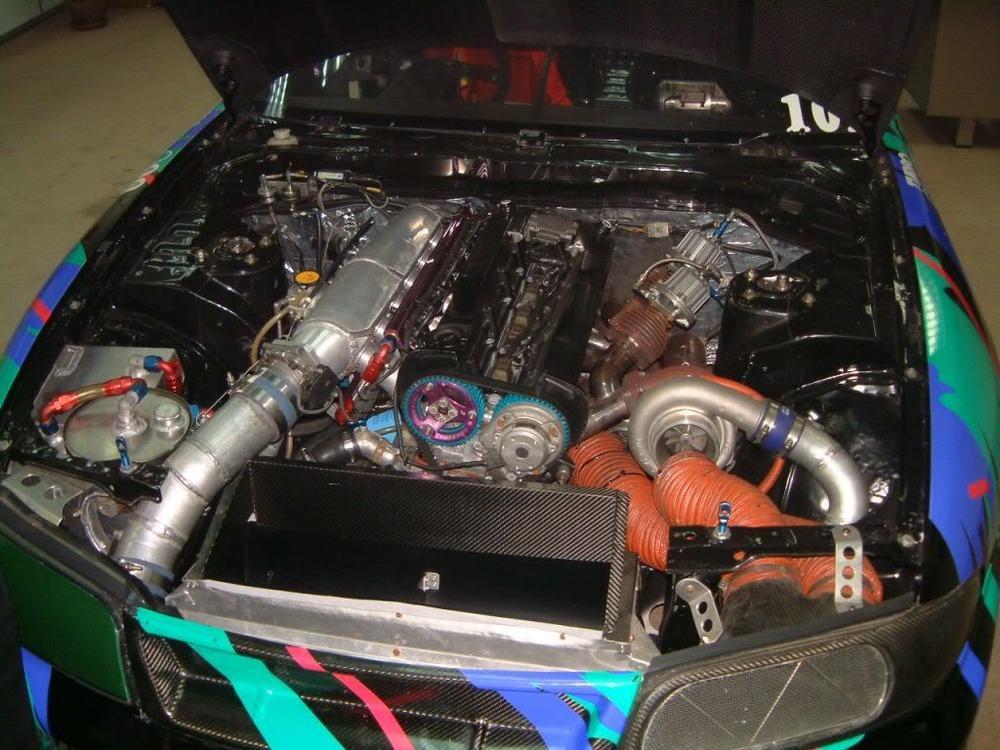 Hks Drag Skyline Showed V8s Not The Only Way To Big Hp